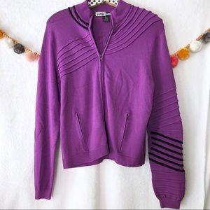 Vintage Jamie Sadock Zipper Sweater